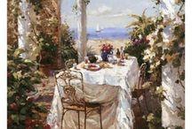 Dejeuner Apres Le Sail  By: Benjamin