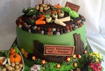 Gardening cakes