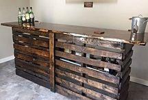 wood bar ideas
