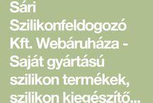Sári Szilikonfeldolgozó Kft. webáruház