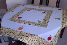 toalha de mesa patchaplique