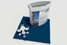 ISOframe Exhibition stands / Professionally built, reusable stands for clients.