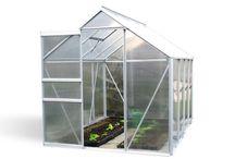 Szklarnie ogrodowe / Szklarnie ogrodowe wykonane z poliwęglanu produkowane przez firmę BioPeak