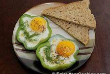 vaječné pokrmy