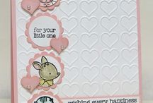 Stamped Baby Cards