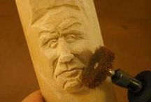 Carving with Dremel