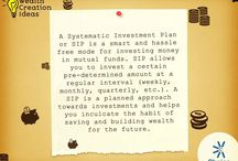 SIP / A Systematic investment plan, as the name suggests, allows a user to build an investment portfolio with a small systematic investment at regular intervals. It also offers a number of miscellaneous benefits that make investment quite comfortable and an enjoyable experience.