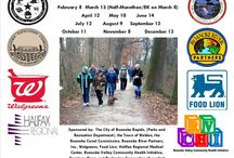 Second Saturday Hike (2-8-2014) / The first installment of the monthly Second Saturday Hike series of 2014, sponsored by the Friends of the Roanoke Canal Museum and Trail.