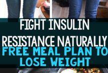 Insulin resistance meal