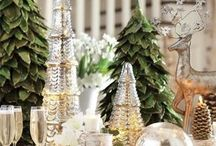 Christmas / Ideas for home decor and food.  Anything festive