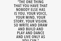 Be you / Inspiratie