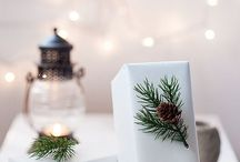 Emballages cadeau Noel