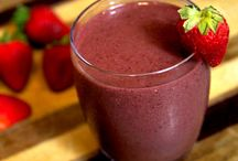 healthy foods/drinks