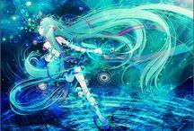 Vocaloid - Miku Hatsune / by Misaki Mei