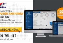 Akick Antivirus / AKick's free computer antivirus software automatically scans and blocks all sorts of unknown viruses, malware, etc. securing your system effectively. To download our free antivirus software for PC, visit www.akick.co.