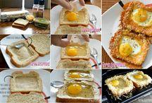*roti tawar telur tanpa potong