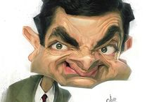 Caricaturas- Mr Bean