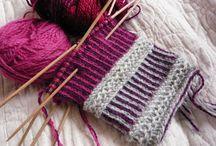 Strikkede snoninger _ knitted twist