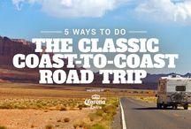 Coast to Coast, Road Trips