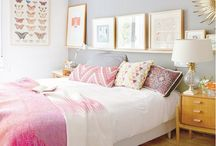 Pretty in Pink / A collection of our favourite Pink bedrooms.  / by Feather & Black