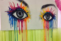 Artistic paintings / Candy eyes