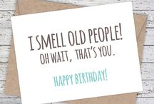 funny bday cards