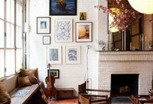 Interiors / My first adventures with pinterest. Lots of ideas randomly collected.
