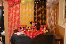 mickey dessert table