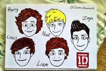 1D / For my sis -__- Have to say I'm not the biggest fan but they're pretty cute, I guess.
