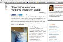 Prensa Clorofila Digital / Recortes de prensa en medios
