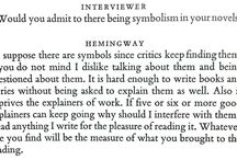 Writers at Work / Our favorite quotes from our our long-running interview series. / by The Paris Review