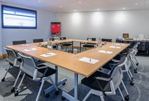 Meeting space / A wide variety of meeting room space is available to hire by the hour/day