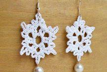 crochet jewellry / by Jean Marshall