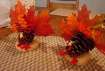 Thanksgiving crafts / by Casie Taylor