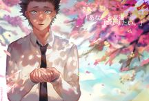 """The Shape of Voice: Koe no Katachi / """"It's like you are screaming, but no one can hear."""" directed by Naoko Yamada and written by Reiko Yoshida (2016)"""