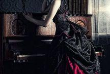 Victorian, goth, witches etc. fashion