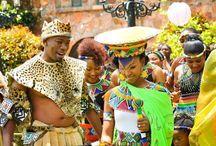 Evening African attire