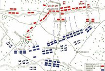 Battle deployment maps of the Napoleonic War