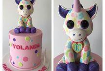 Beanie boos cake