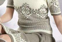Vzory pleteni- vlastní