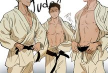 Judo drawing