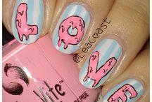 Kunterbunte nageldesigns / Nägel sind so schön     Und noch schöner mit coolen Designs