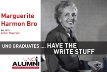Maverick Alumni / What do UNO graduates do? Here's a look at 22 outstanding UNO alumni.  Photos courtesy of the University of Nebraska at Omaha Alumni Association.  http://unoalumni.org/ / by UNO (University of Nebraska at Omaha)