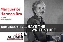 Maverick Alumni / What do UNO graduates do? Here's a look at 22 outstanding UNO alumni.  Photos courtesy of the University of Nebraska at Omaha Alumni Association.  http://unoalumni.org/