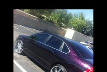 """2009 Chevy Impala For Sale / $11,500.00  2009 Chevy Impala. Custom paint black with pink flakes. 22"""" chrome rims great shape. Car inside and out in great shape just need to sale soon. I'm interested in getting an SUV. Excellent condition!  Full Financing & Nationwide Shipping Available at One Stop Motors.  For additional information please call 877-566-6686   Vehicle located in El Paso, TX Ad Id#107777"""