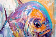 Art marine life inspiration