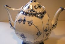 Vintage teapot - teacup / Teiere