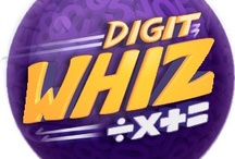 digitwhiz / DigitWhiz is a teacher created, games-based website that helps kids master foundational math skills!  And, it's FREE!