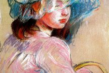 Berthe MORISOT (impressionniste)