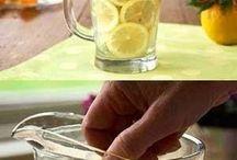 Pitcher vase flower holder (lemons)